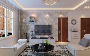 客厅电视墙装修设计 时尚电视柜图片