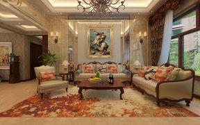 客厅沙发颜色搭配 沙发背景墙装修效果图片