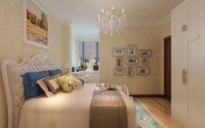 歐式床 臥室背景墻設計