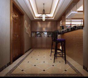 地板磚拼花效果圖 客廳隔門鞋柜裝修效果圖片