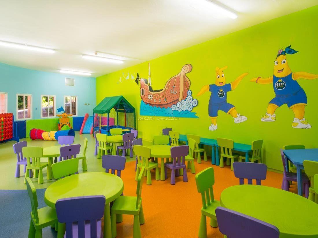 幼儿园装修墙饰图片大全