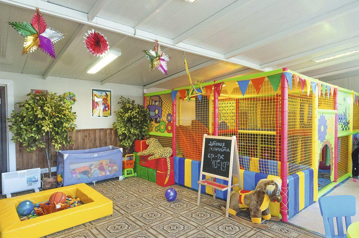 幼儿园装饰装修效果图片