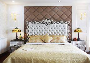 歐式臥室壁紙 歐式室內裝修圖片