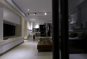 現代簡約風格客廳背景 簡約電視背景墻