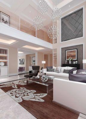 房子客厅设计 现代复式装修效果图