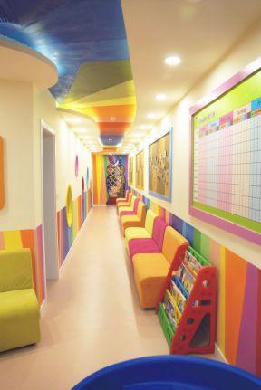 2019幼儿园走廊吊顶装饰图片-装修123网效果图大全