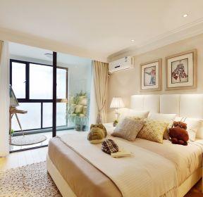 2020阳台卧室装修一体化效果图-装信通网效果图大全