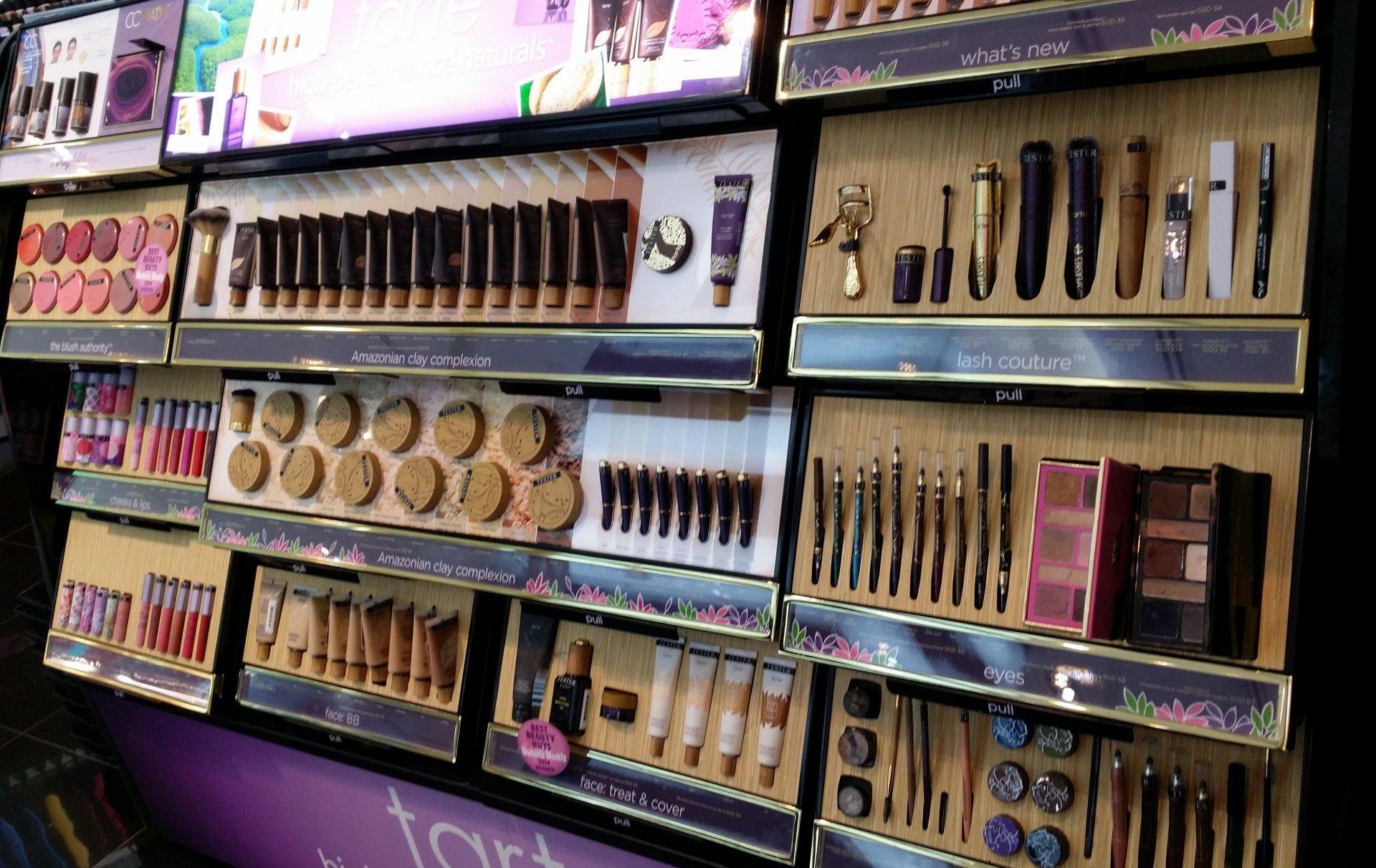 化妆品店面室内装修图片