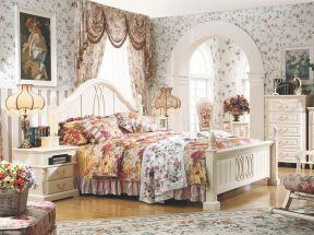 歐式田園風格 臥室裝飾圖片
