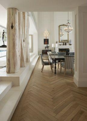 2017客厅浅色木地板材质贴图
