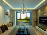 室内客厅电视墙装修设计