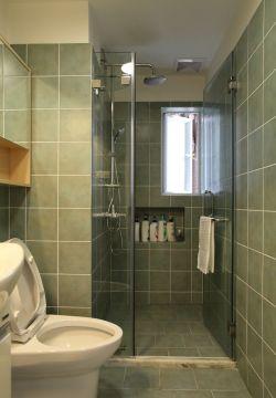 小卫生间玻璃门装修效果图片大全