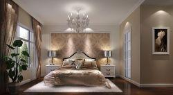 簡歐家裝15平方臥室白色踢腳線效果圖