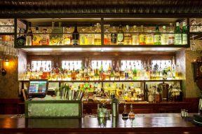小酒吧设计 酒架装修效果图片图片