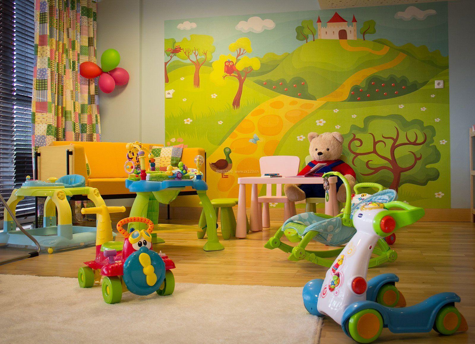 室内装饰幼儿园小班环境布置墙面效果图