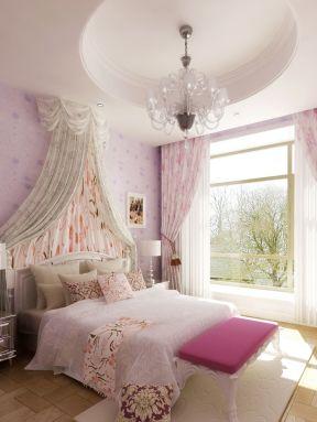 房屋卧室 墙面壁纸装修效果图片
