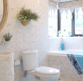 浴室装修马赛克实景图 1444 马赛克地中海卫浴装修效果图 779 创意