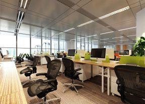 現代辦公室大廳效果圖 辦公室吊頂裝修設計圖