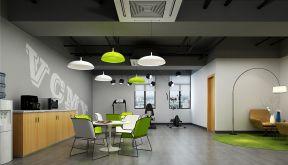 現代辦公室裝修設計風格 吊燈圖片