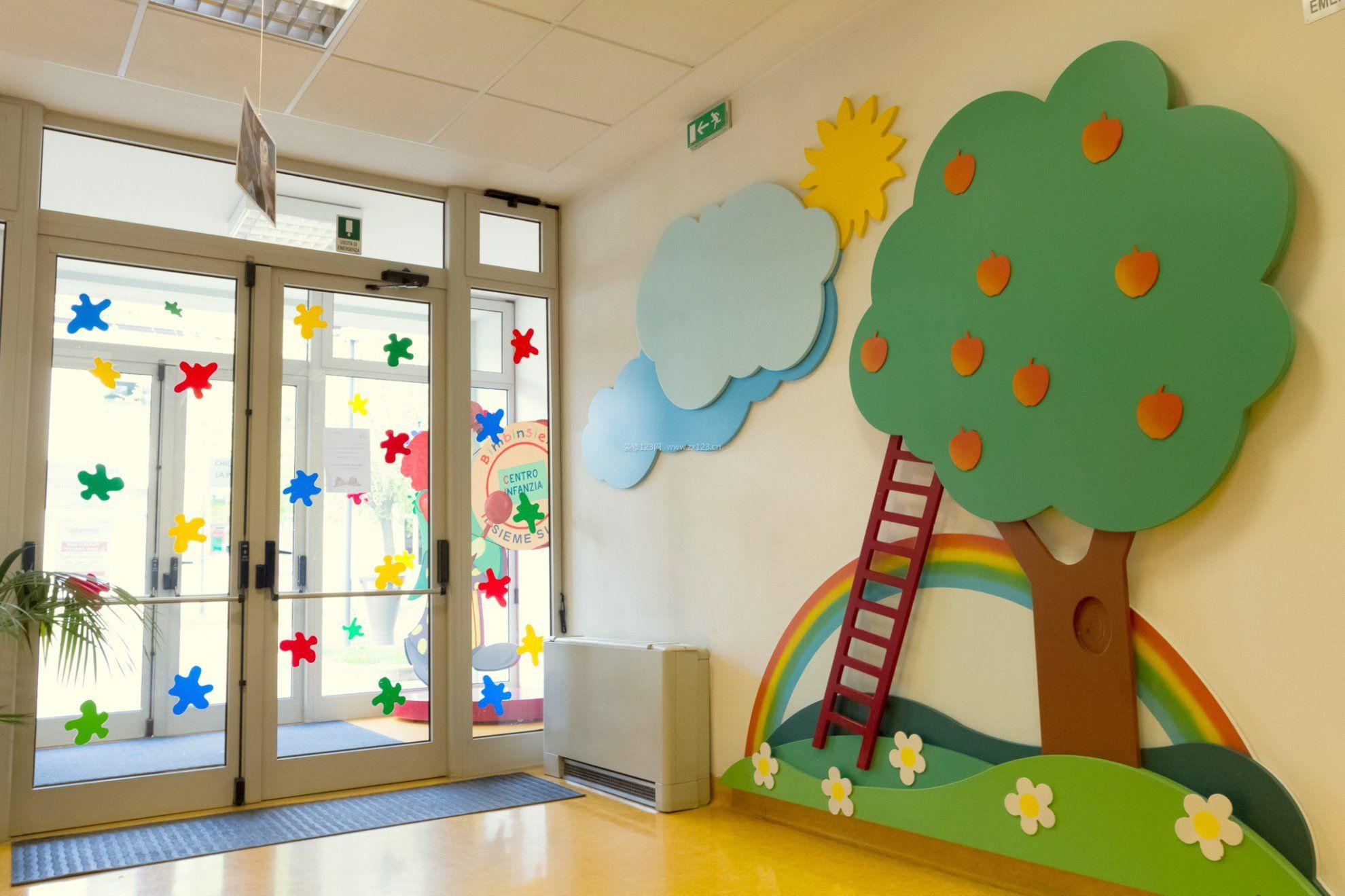 特色幼儿园墙面装饰装修效果图片