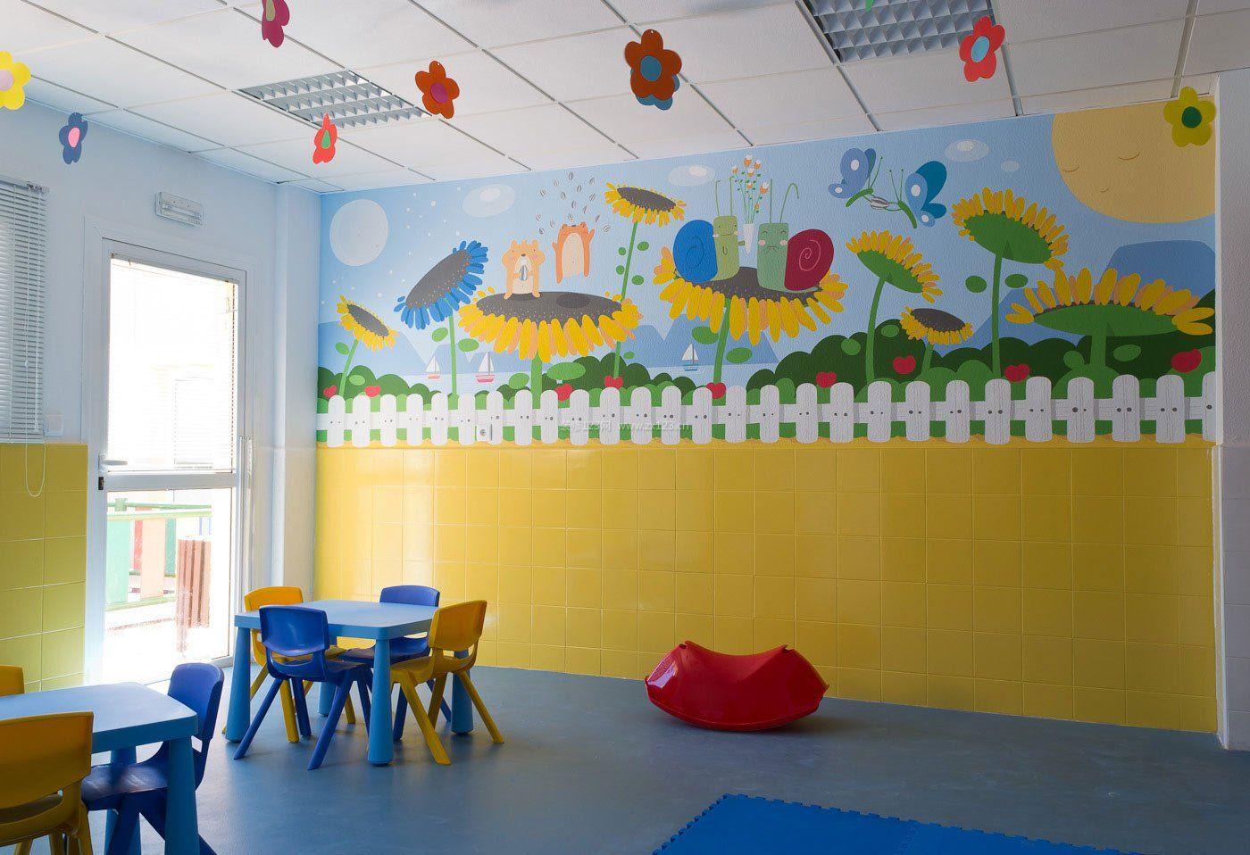 特色幼儿园教室布置装修效果图片
