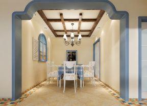 地中海风情 室内门洞装修效果图