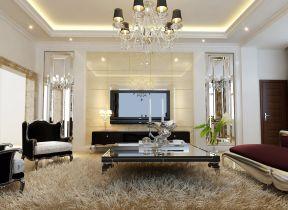 小戶型客廳簡約 客廳電視背景墻裝修圖