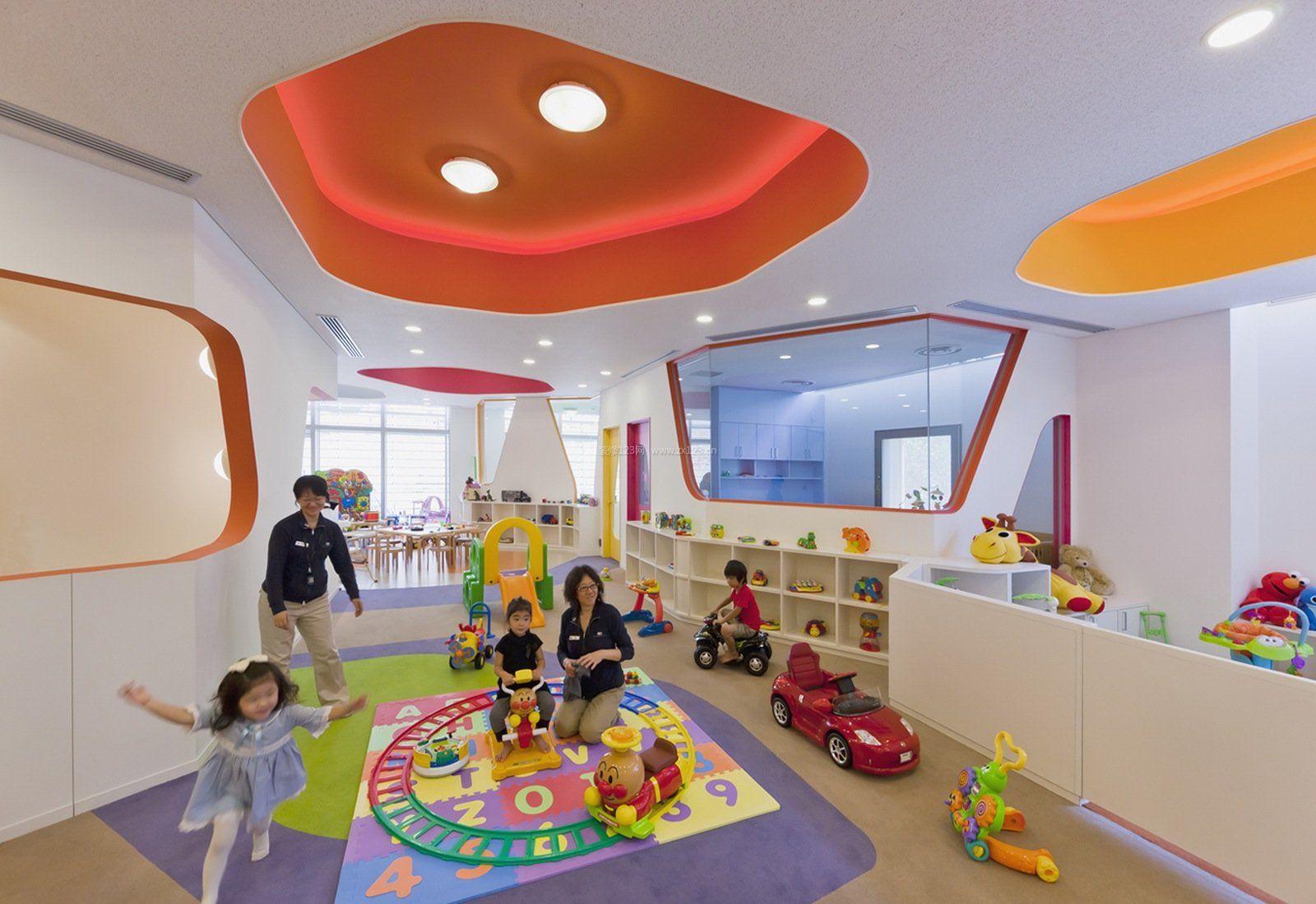 地中海装修风格幼儿园室内环境设计图片图片