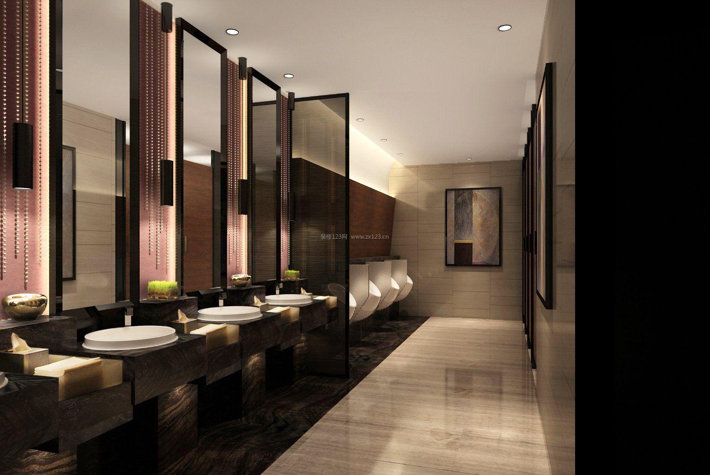 酒吧卫生间室内设计装修效果图片