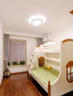 男儿童房高低床装修效果图片图片