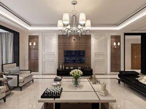 現代簡約客廳 客廳電視墻裝修設計