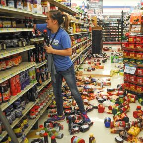 超市货架摆放设计装修效果图片大全图片