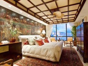臥室裝潢 東南亞設計
