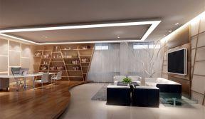 開放式辦公室設計圖 現代風格辦公室裝修