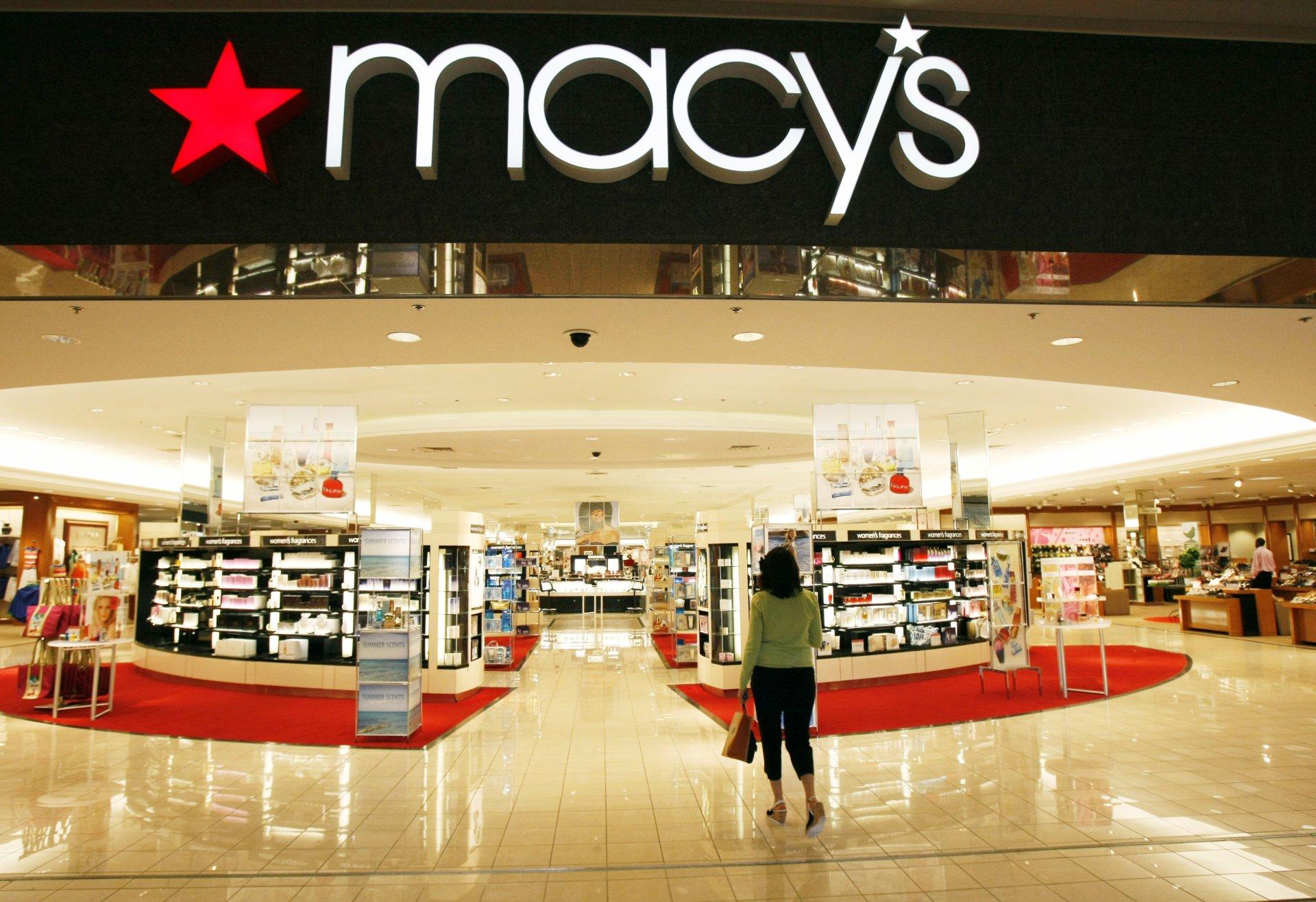 百货商场店面装修设计效果图欣赏图片