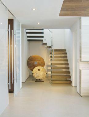 室內現代簡約風格 室內樓梯圖片
