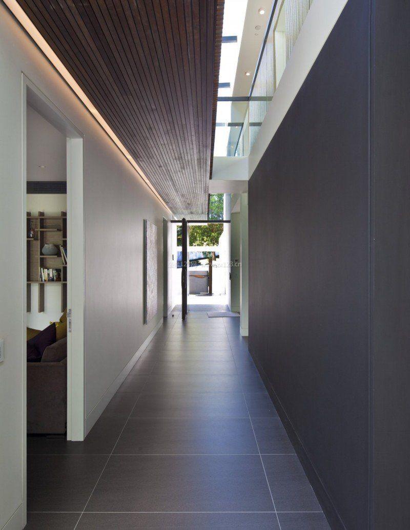 办公室走廊吊顶装饰效果图_装修123效果图