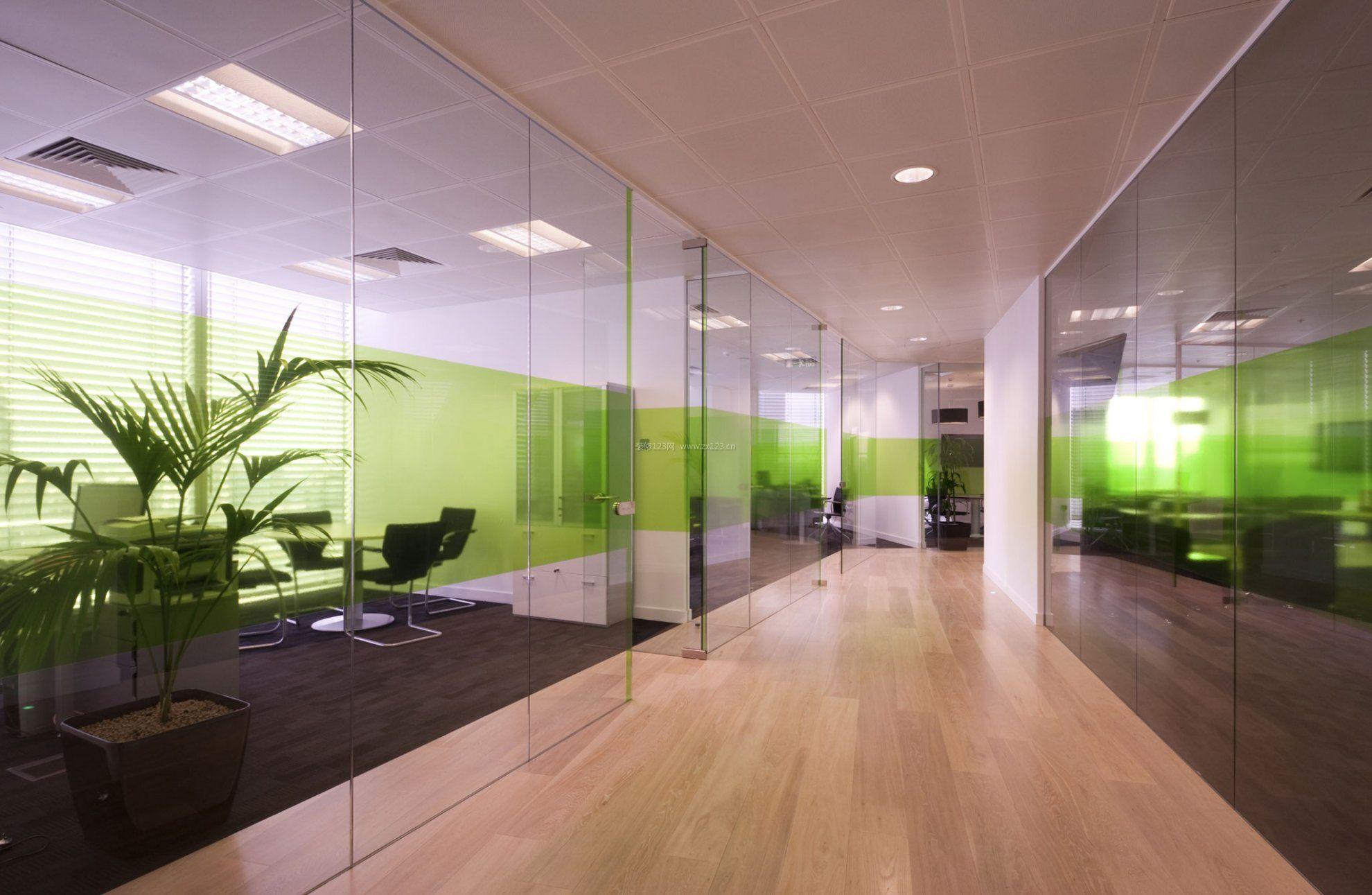 办公室走廊吊顶装饰装修效果图
