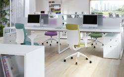 簡單辦公室電腦辦公桌裝修效果圖片大全