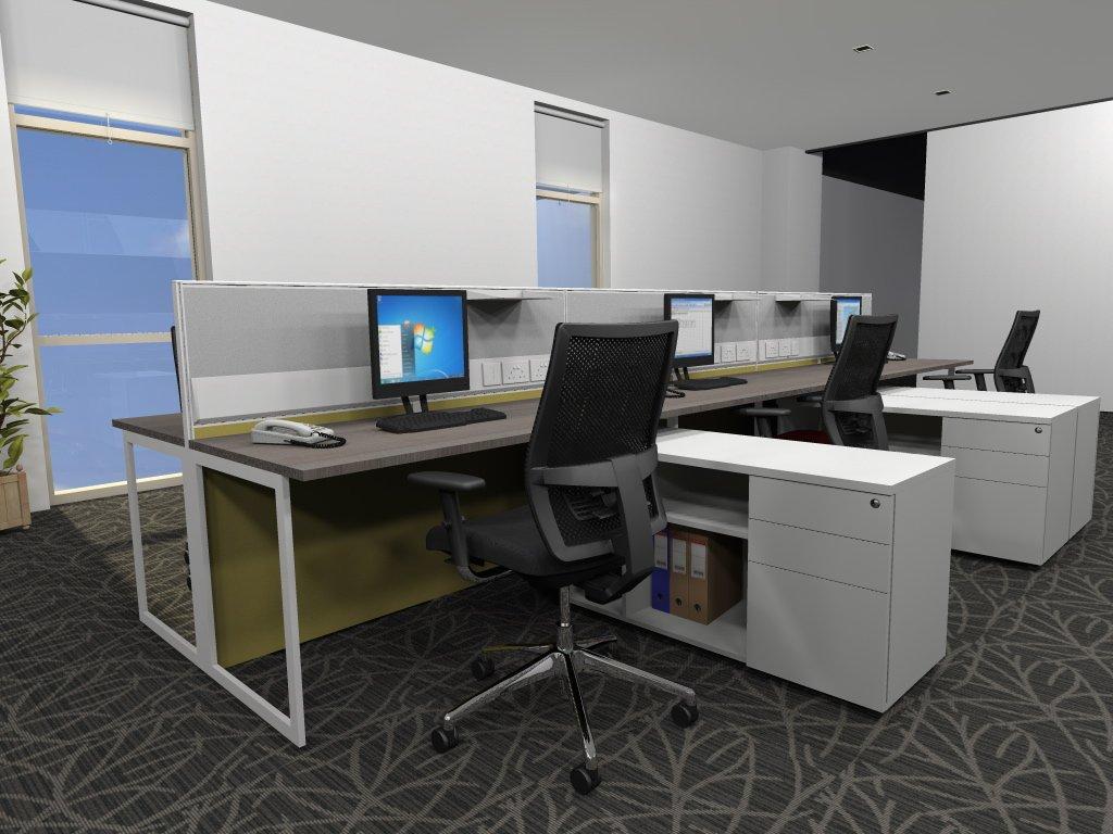 300平办公室装修效果图-300平方办公室装修-500平米室