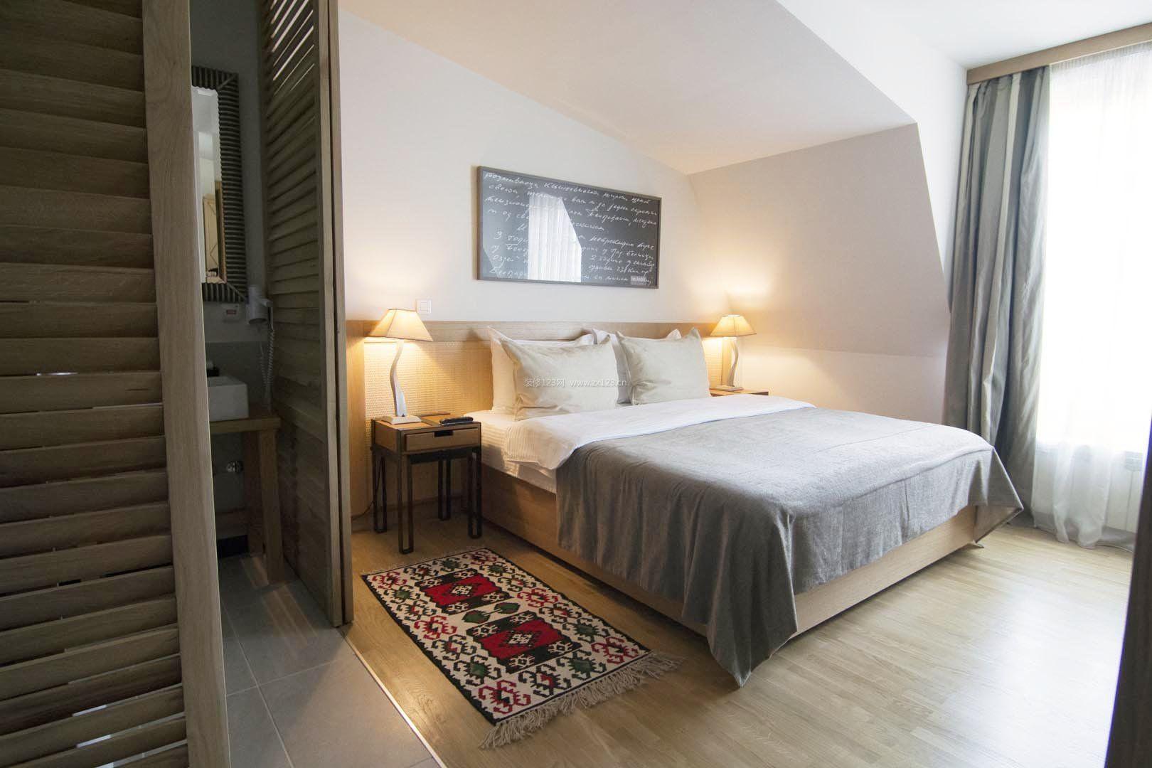 酒店房间装修方案图片图片