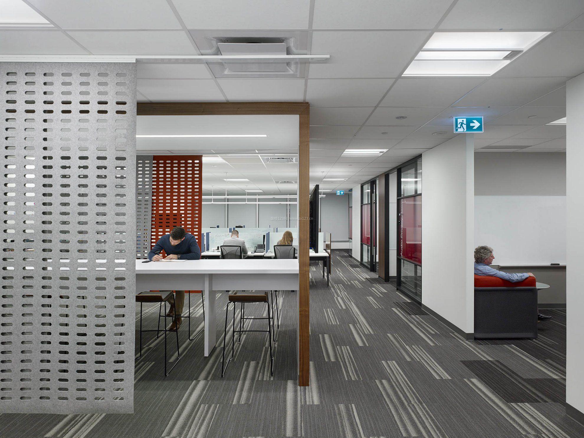 北京专业办公室装修集成吊顶设计效果图