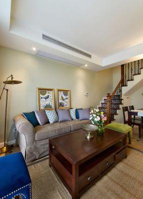 家裝客廳設計效果 躍層裝修