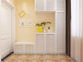 100多平米室内装修图 进门鞋柜效果图图片