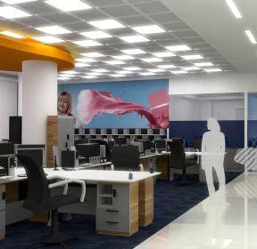 普通办公室装修办公室天花效果图-每日推荐