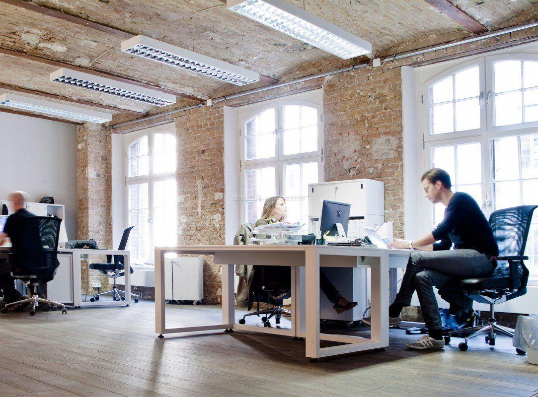 小型欧美风格办公室装修布置图片2016