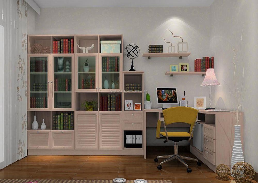 家装效果图 简中风格书柜装修效果图片 提供者:   ← → 可以翻页