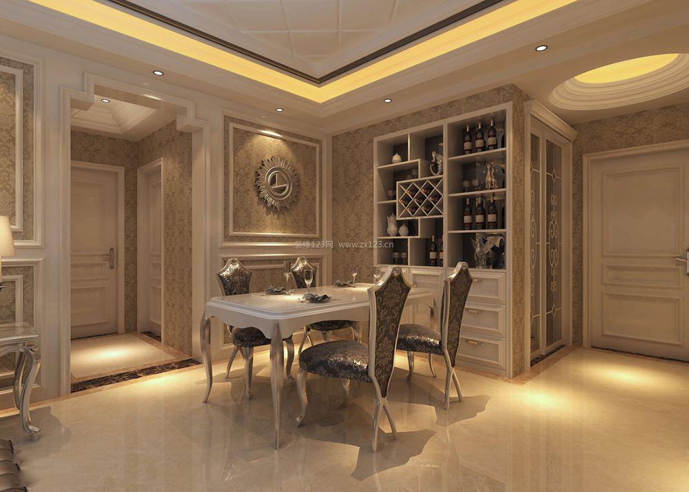 家装餐厅走廊吊顶造型效果图