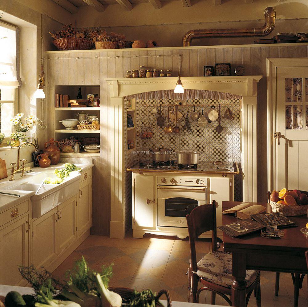 小户型老房子欧式厨房装修效果图