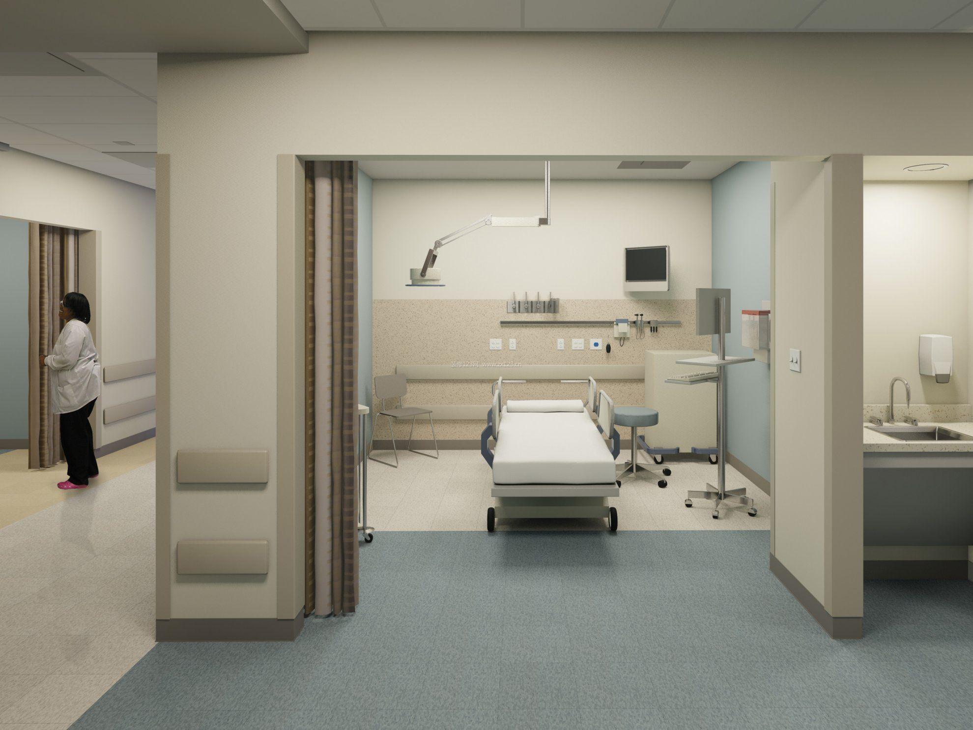 醫院手術室裝修設計效果圖欣賞圖片